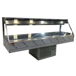 Woodson WR.CFS26 6 Module Straight Cold Food Display