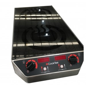 CookTek Double Hob Induction Cooktop MC3502F