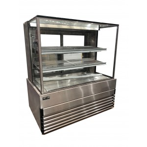 Koldtech SQHCD.12 Square Heated Display Cabinet