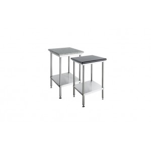 Simply Stainless SS23 Black Granite Topped Bench